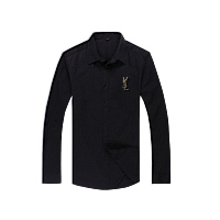 Yves Saint Laurent YSL Shirts Long Sleeved For Men #367528