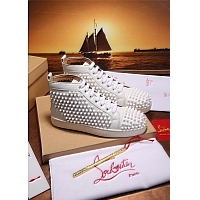 Christian Louboutin CL High Tops Shoes For Men #372823