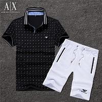 Armani Tracksuits Short Sleeved For Men #375753