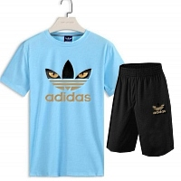 Adidas Tracksuits Short Sleeved For Men #376329