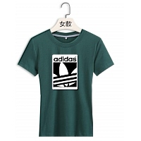 Adidas T-Shirts Short Sleeved For Women #380346