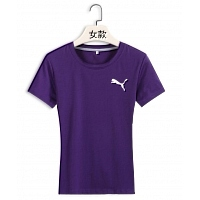 Puma T-Shirts Short Sleeved For Women #381393