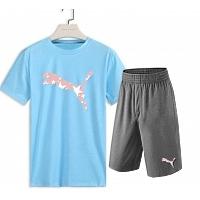 Puma Tracksuits Short Sleeved For Men #382143