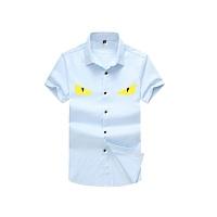 Fendi Shirts Short Sleeved For Men #386189