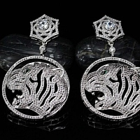 Cartier AAA Quality Earrings #399368
