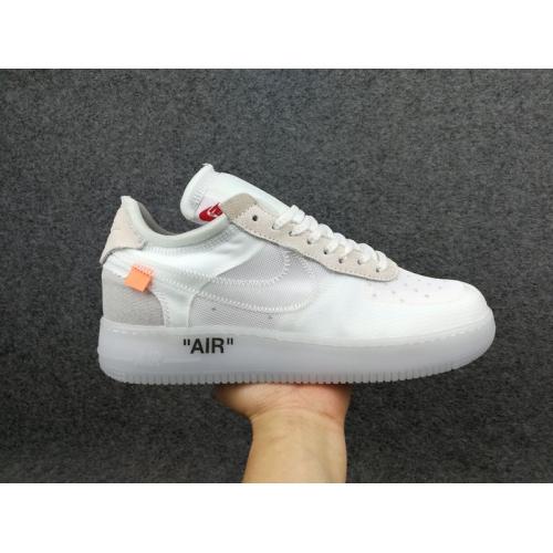 Nike Air Flight One X OFF WHITE For Men #403559