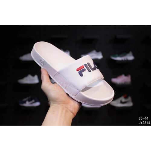 Cheap FILA Slippers For Women #403829 Replica Wholesale [$56.00 USD] [W-403829] on Replica FILA Shoes