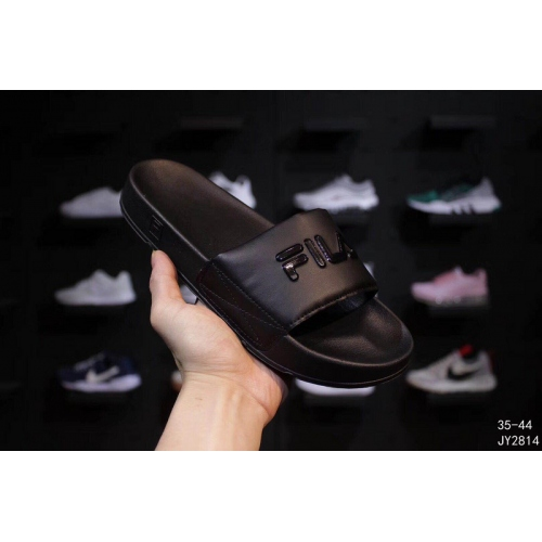 Cheap FILA Slippers For Women #403831 Replica Wholesale [$56.00 USD] [W-403831] on Replica FILA Shoes