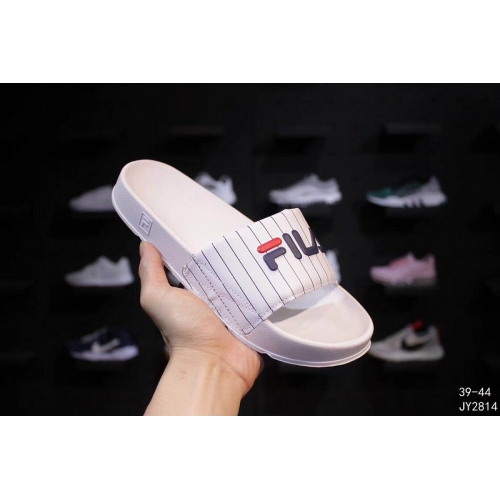 Cheap FILA Slippers For Women #403832 Replica Wholesale [$56.00 USD] [W-403832] on Replica FILA Shoes
