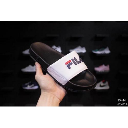 Cheap FILA Slippers For Women #403833 Replica Wholesale [$56.00 USD] [W-403833] on Replica FILA Shoes