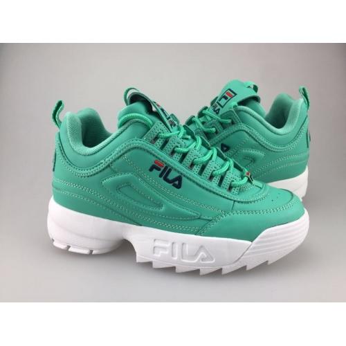 Cheap FILA Shoes For Women #404054 Replica Wholesale [$56.00 USD] [W-404054] on Replica FILA Shoes