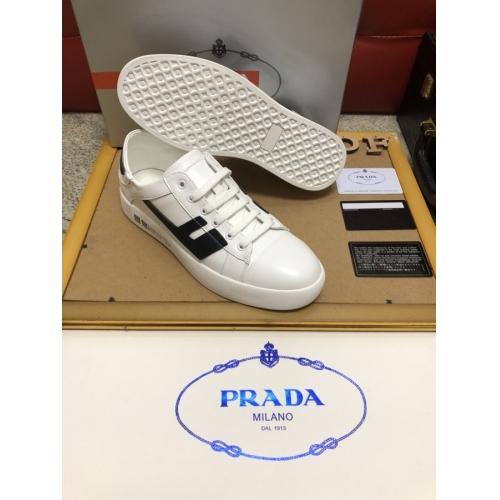 Cheap Prada Casual Shoes For Men #408772 Replica Wholesale [$80.00 USD] [W-408772] on Replica Prada New Shoes