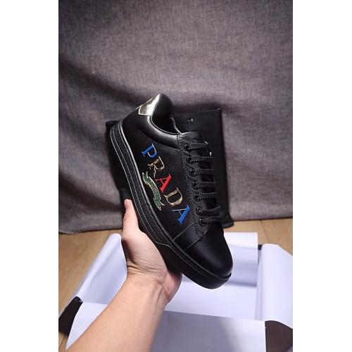 Cheap Prada Casual Shoes For Men #408774 Replica Wholesale [$80.00 USD] [W-408774] on Replica Prada New Shoes