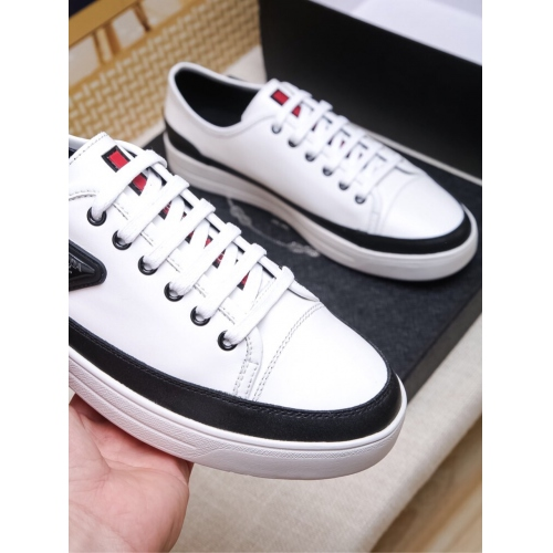 Cheap Prada Casual Shoes For Men #408778 Replica Wholesale [$80.00 USD] [W-408778] on Replica Prada New Shoes