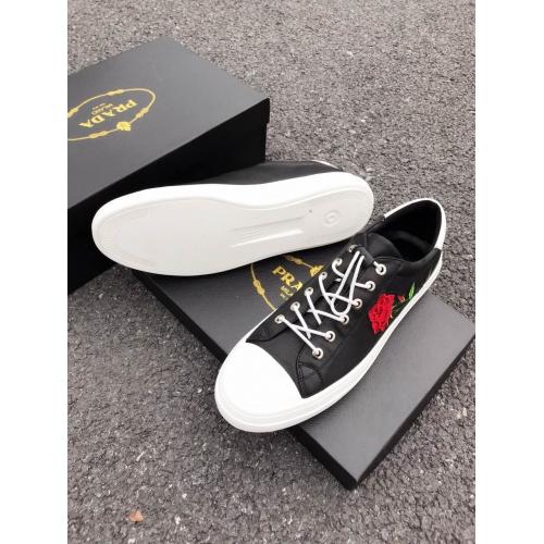 Cheap Prada Casual Shoes For Men #408782 Replica Wholesale [$82.00 USD] [W-408782] on Replica Prada New Shoes