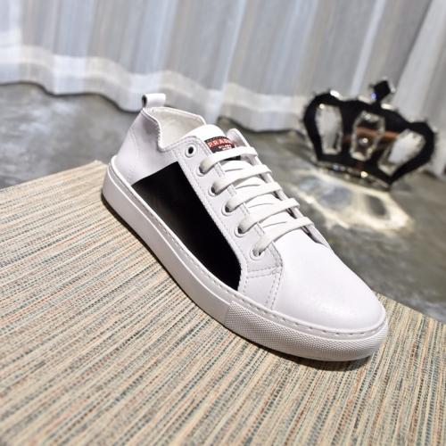 Cheap Prada Casual Shoes For Men #408784 Replica Wholesale [$62.00 USD] [W-408784] on Replica Prada New Shoes