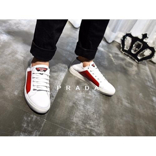 Cheap Prada Casual Shoes For Men #408786 Replica Wholesale [$62.00 USD] [W-408786] on Replica Prada New Shoes