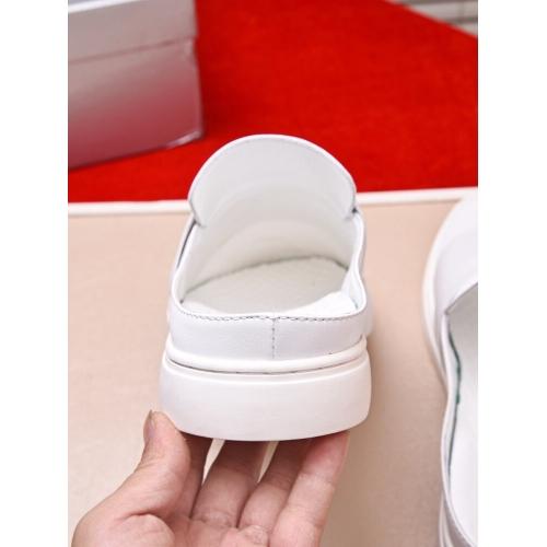 Cheap Prada Fashion Slippers For Men #408793 Replica Wholesale [$60.00 USD] [W-408793] on Replica Prada Slippers