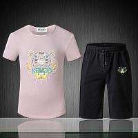 Kenzo Tracksuits Short Sleeved For Men #402527