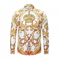 Versace Shirts Long Sleeved For Men #408042