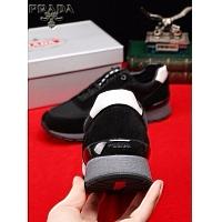 Cheap Prada Casual Shoes For Men #408752 Replica Wholesale [$82.00 USD] [W-408752] on Replica Prada New Shoes