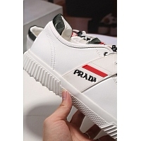 Cheap Prada Casual Shoes For Men #408789 Replica Wholesale [$80.00 USD] [W-408789] on Replica Prada New Shoes