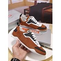 Cheap Prada Casual Shoes For Men #408792 Replica Wholesale [$80.00 USD] [W-408792] on Replica Prada New Shoes