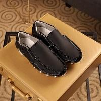 Cheap Prada Leather Shoes For Men #408798 Replica Wholesale [$72.00 USD] [W-408798] on Replica Prada Leather Shoes
