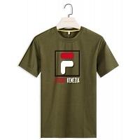 FILA T-Shirts Short Sleeved For Men #410222
