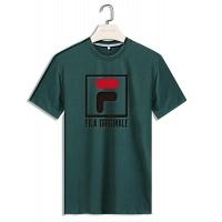 FILA T-Shirts Short Sleeved For Men #410237