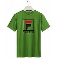 FILA T-Shirts Short Sleeved For Men #410239