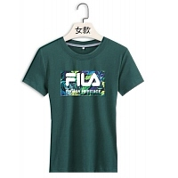 FILA T-Shirts Short Sleeved For Women #411368