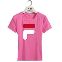 FILA T-Shirts Short Sleeved For Women #411410