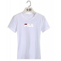FILA T-Shirts Short Sleeved For Women #411434