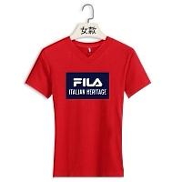 FILA T-Shirts Short Sleeved For Women #411451