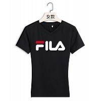 FILA T-Shirts Short Sleeved For Women #411465
