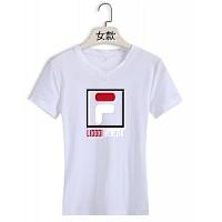FILA T-Shirts Short Sleeved For Women #411469