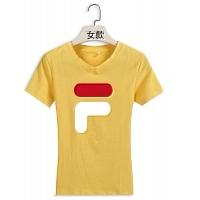 FILA T-Shirts Short Sleeved For Women #411489