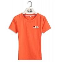 FILA T-Shirts Short Sleeved For Women #411504