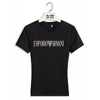 Armani T-Shirts Short Sleeved For Women #411683
