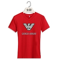 Armani T-Shirts Short Sleeved For Women #411688
