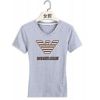 Armani T-Shirts Short Sleeved For Women #411727