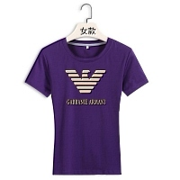 Armani T-Shirts Short Sleeved For Women #411794