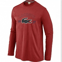 Lacoste T-Shirts Long Sleeved For Men #413846