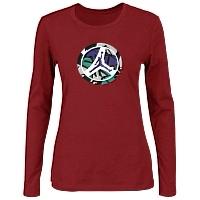 Jordan T-Shirts Long Sleeved For Women #415053