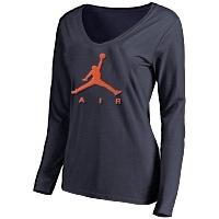 Jordan T-Shirts Long Sleeved For Women #415379