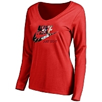 Nike T-Shirts Long Sleeved For Women #416038