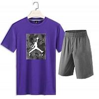 Jordan Tracksuits Short Sleeved For Men #418437
