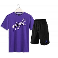 Jordan Tracksuits Short Sleeved For Men #418444