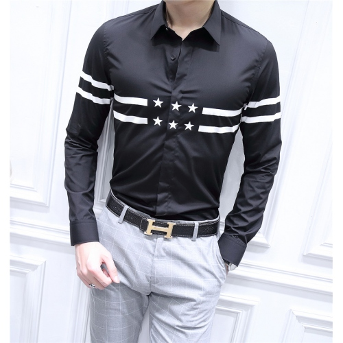 Cheap Givenchy shirts Long Sleeved For Men #428664 Replica Wholesale [$86.50 USD] [W-428664] on Replica Givenchy Shirts